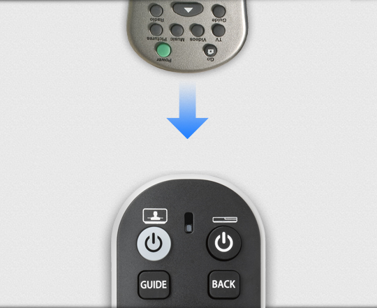 URC6810 TV Zapper Remote