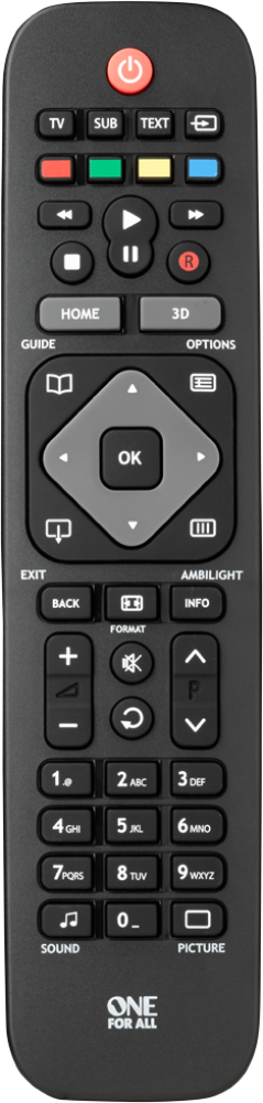 URC1913 Philips TV Remote